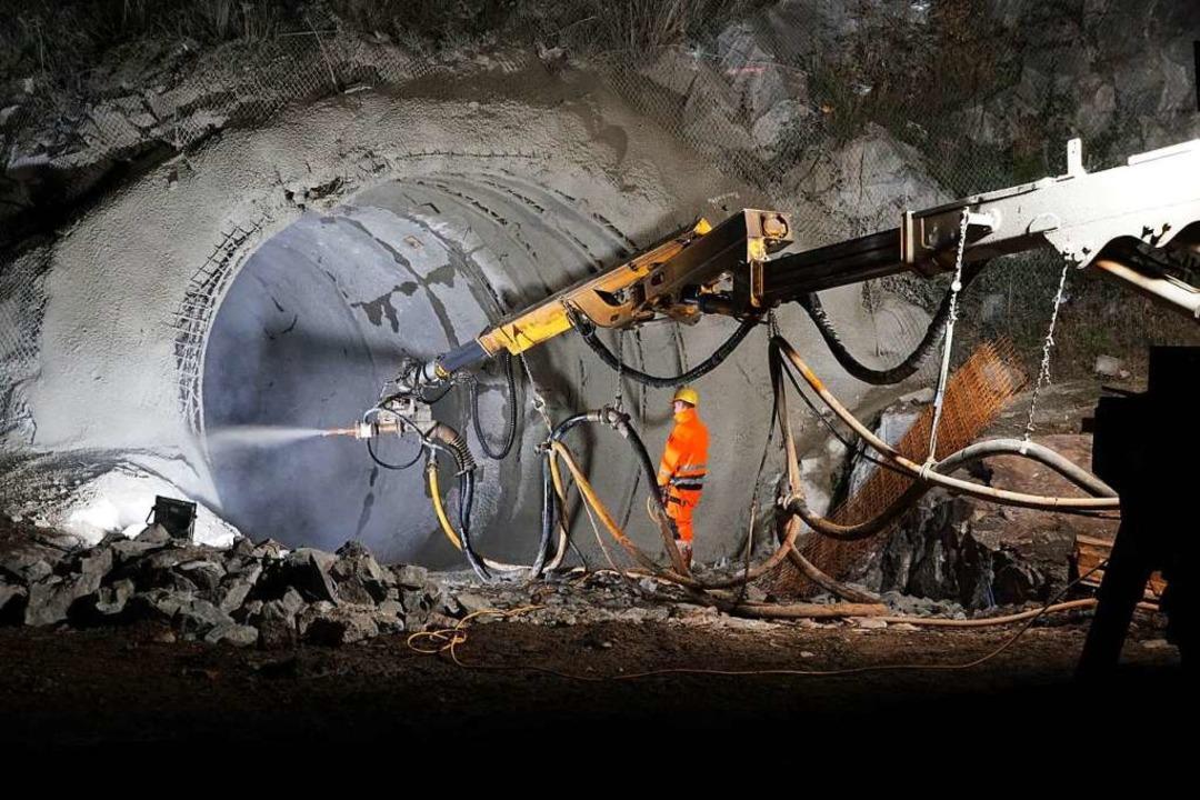 Der Tunnelbau in Nieder- und Oberwinden ging planmäßig voran.   | Foto: Helmut Häringer