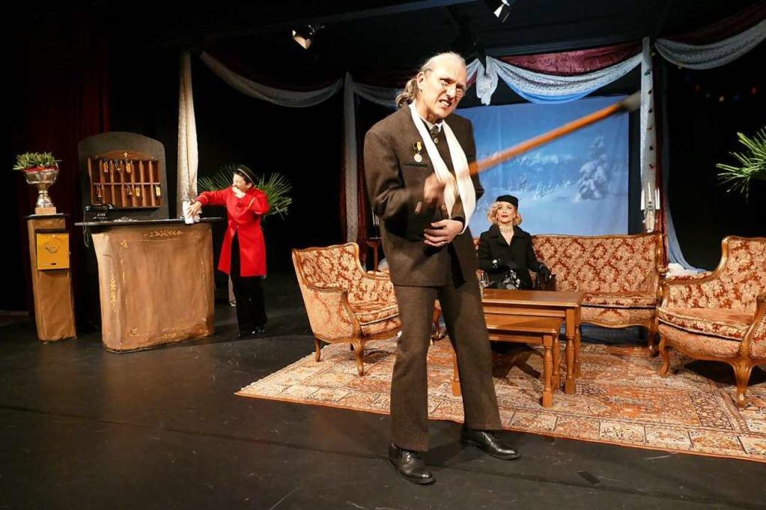 Theater am Kastelberg: Drei Männer im Schnee, nach Erich Kästner  | Foto: Sylvia Sredniawa