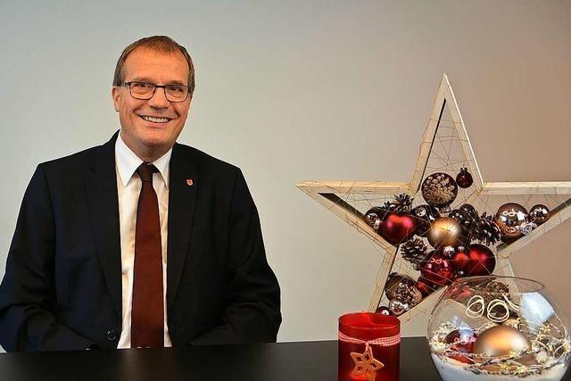 Der Rheinfelder Oberbürgermeister plädiert für ein leises Silvester
