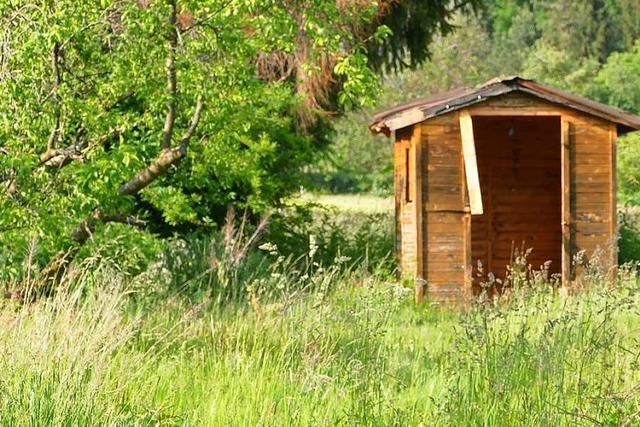 In Lörrach werden mehrere Gartenhütten aufgebrochen