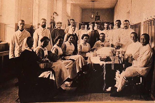 Im Ersten Weltkrieg wurden in Schopfheim im Schnitt 300 Verwundete gepflegt