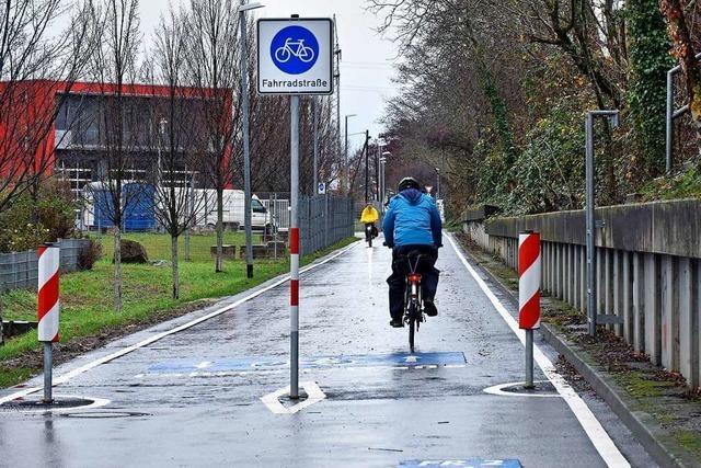 Freiburger Straße Hagelstauden wird zur Fahrradstraße – und für Autos gesperrt
