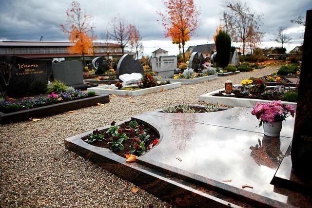 Die evangelische Kirchengemeinde in Altenheim ändert den Ablauf der Bestattungen