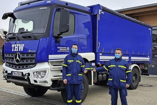 Ein neuer Laster für den Hochwasserschutz