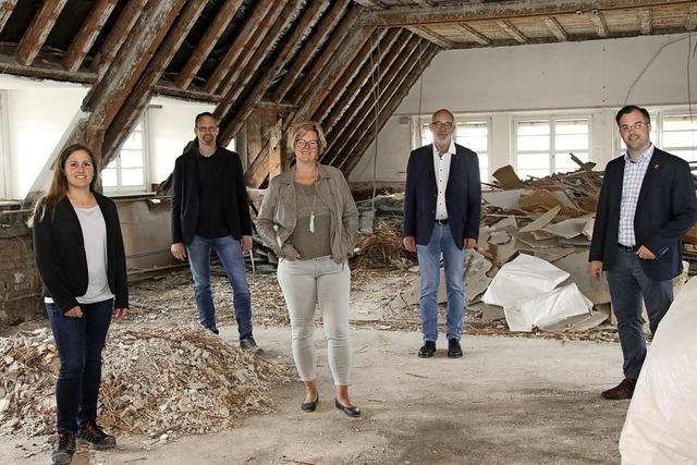 Sieben Millionen Euro für den Umbau