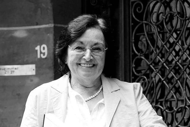 Ehemalige Freiburger FDP-Stadträtin Herta König ist gestorben