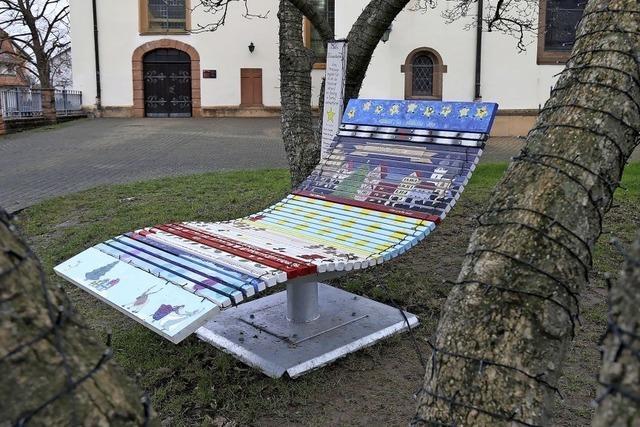 Adventsliege in Friesenheim mit Quiz