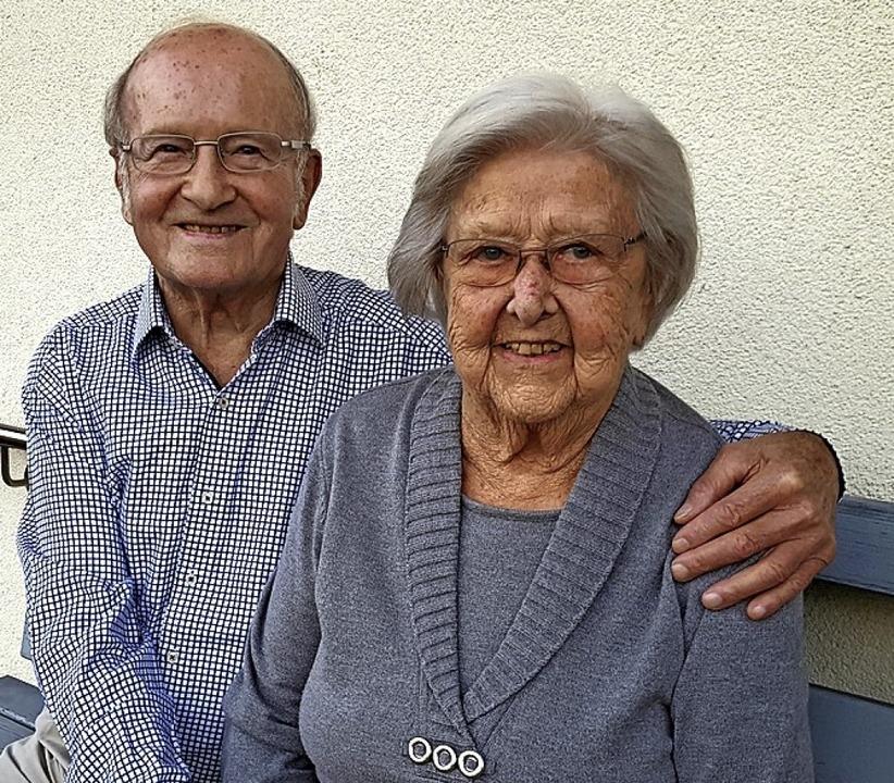 Gnadenhochzeit im Januar: Johann Georg und Rosa Bauer  | Foto: Beate Zehnle-Lehmann