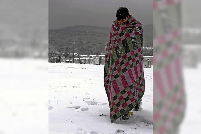 Schutzlos im Schnee