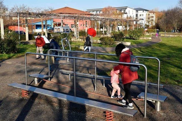 In Freiburg gibt es immer mehr Bewegungsparcours im Freien