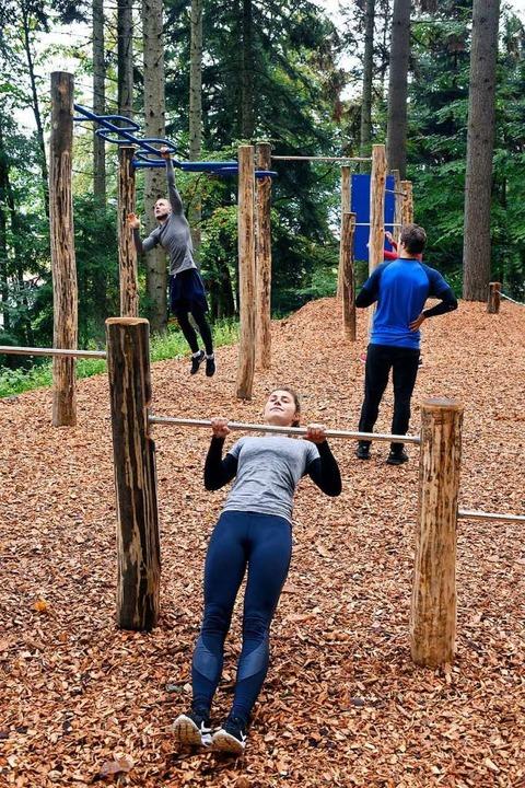 Im Sternwald entstand ein Bewegungspar...titut für Sport und Sportwissenschaft.  | Foto: Thomas Kunz