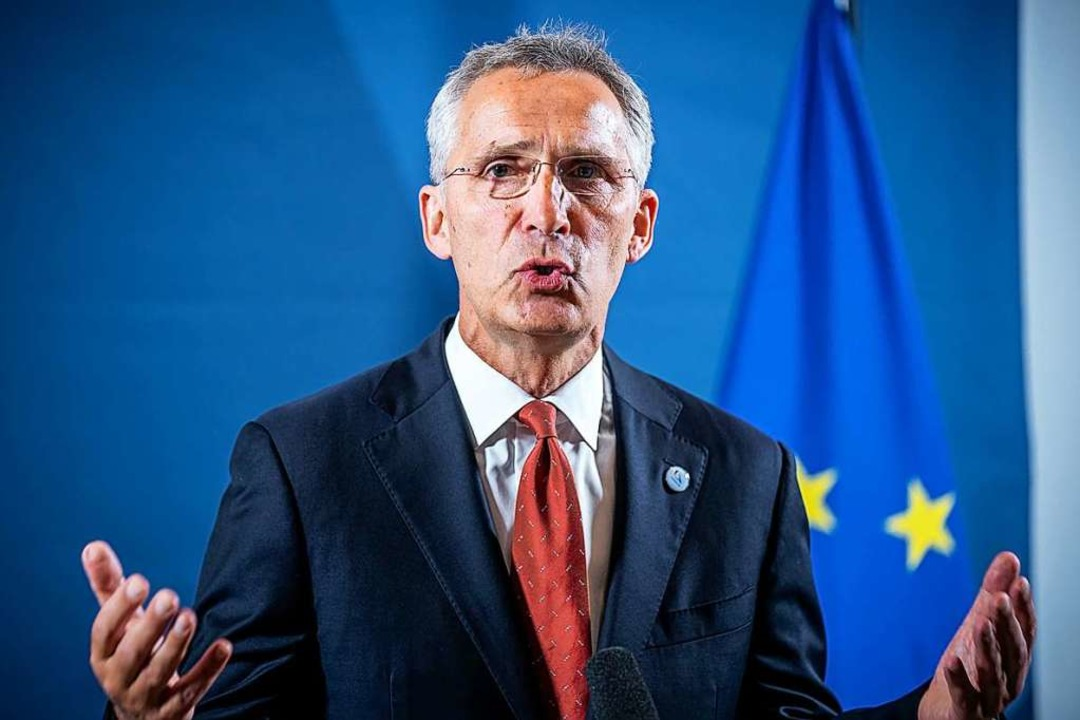 Nato-Generalsekretär Jens Stoltenberg    Foto: Michael Kappeler (dpa)