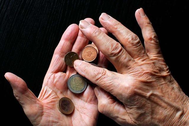 Ein altes Ehepaar aus dem Kreis Lörrach kann sich alltägliche Dinge nicht leisten