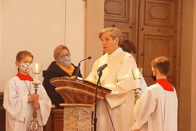 Reinhard Maurer als neuer Diakon in Rheinhausen im Amt