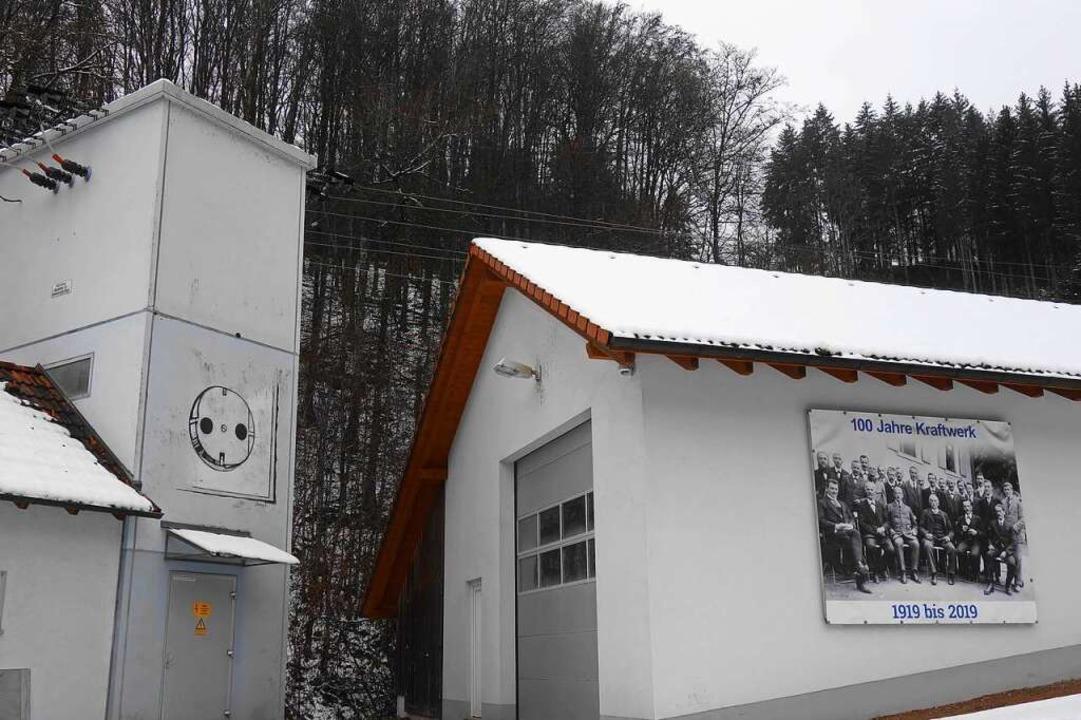 Das Kraftwerk Köhlgartenwiese heute.    Foto: Gudrun Gehr