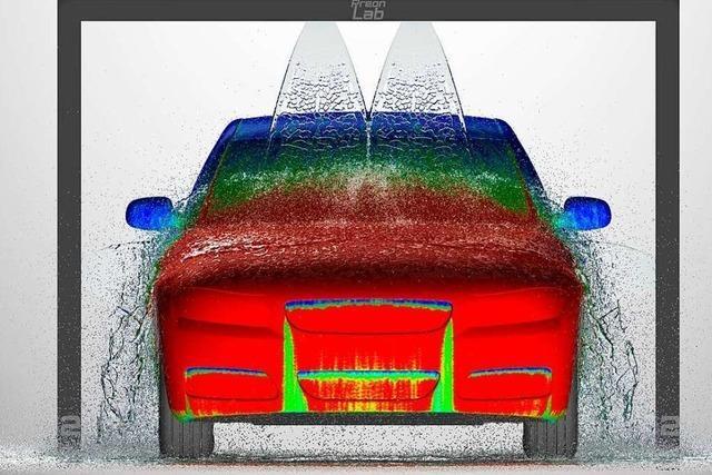 Fifty2 simuliert für die Autobranche, wie sich Flüssigkeiten ausbreiten