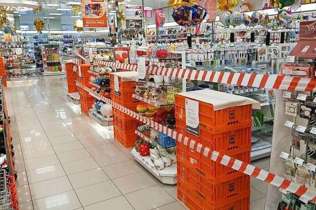Müller-Drogeriemarkt in Lahr trennt einen Teil des Sortiments ab