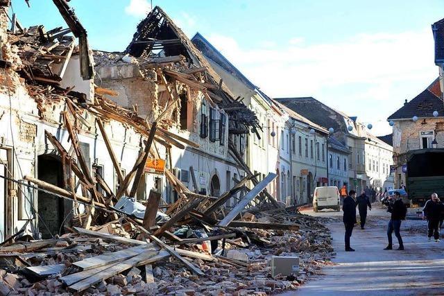 Mindestens 6 Tote bei Erdbeben in Kroatien
