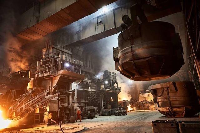 Das Stahlwerk sendet Wärme nach Kehl und Straßburg
