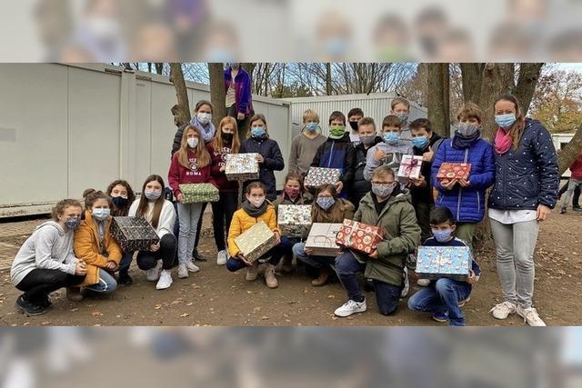 Geschenke für rumänische Waisenkinder