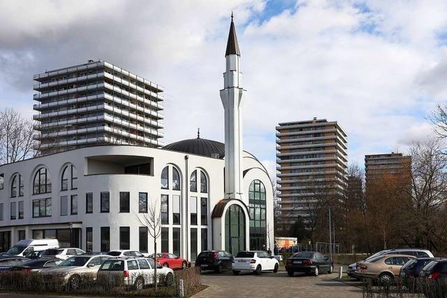 Nur wenige Gläubige besuchen zurzeit die Lahrer Moschee