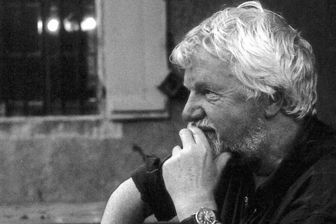 Walter Mossmann im Jahr 2008  | Foto: Delphine Brox