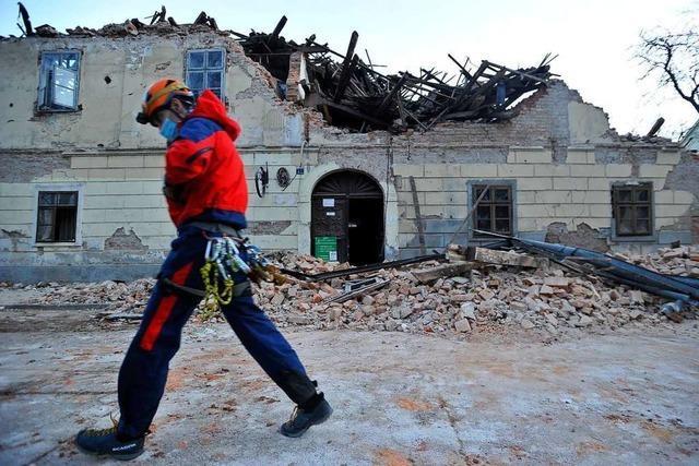 Zahl der Todesopfer bei Erdbeben in Kroatien steigt auf 7