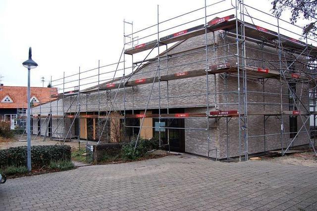 Das neue Gemeindehaus in Neuried-Altenheim könnte im Mai eröffnen