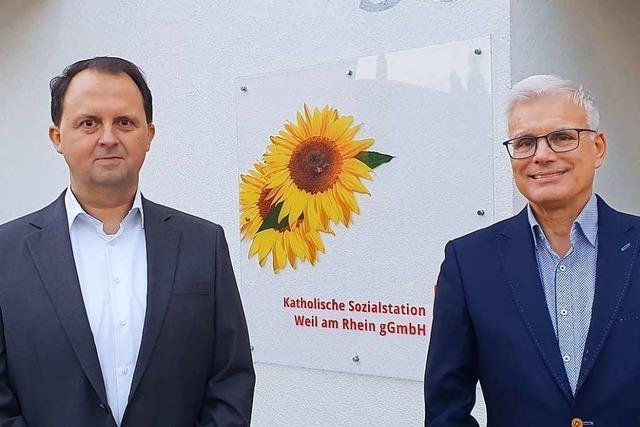 Michael Kils ist der neue Geschäftsführer der Sozialstation Weil am Rhein