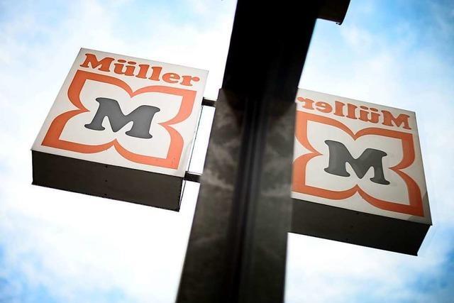 Manche Müller-Märkte müssen Abteilungen sperren
