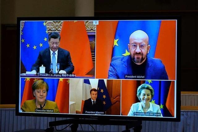 So funktioniert der EU-Investitionspakt mit China
