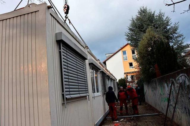 Container in Grenzach-Wyhlen müssen versetzt werden – für 30.000 Euro