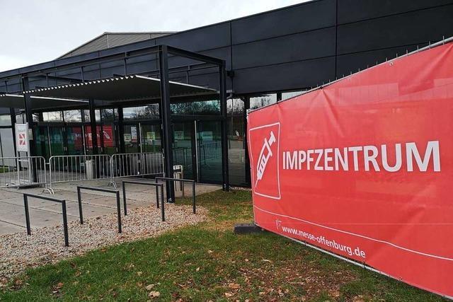 Die Terminvergabe beim Zentralen Impfzentrum in Offenburg läuft an