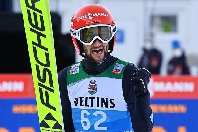 Markus Eisenbichler Dritter in Garmisch-Partenkirchen, russischer Skispringer positiv auf Corona getestet