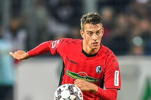 Janik Haberer trainiert beim SC Freiburg wieder mit der Mannschaft