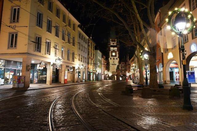 Ruhige Silvesternacht für Freiburger Polizei und Rettungsdienste