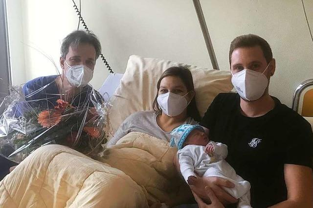 Paula ist das erste Baby, das im neuen Jahr in Lörrach zur Welt kam
