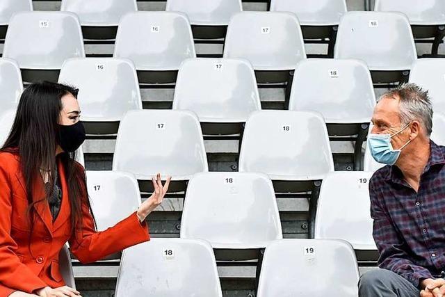 Pianistin Vetter trifft Fußballtrainer Streich: Suche, was die Meister suchten