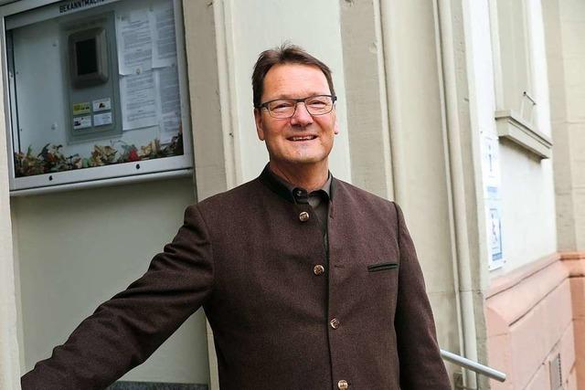 Auggens Bürgermeister Fritz Deutschmann wird nicht mehr antreten