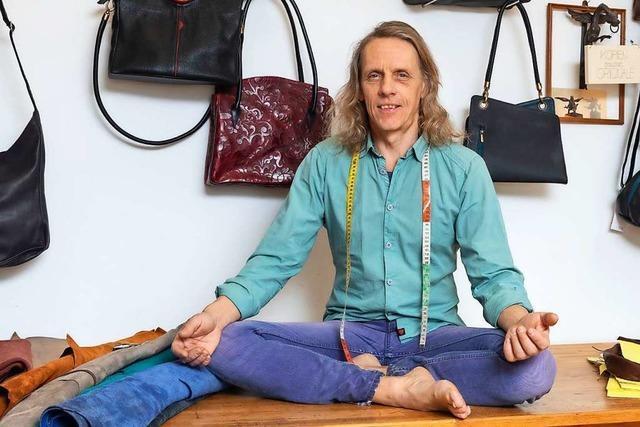 Jörg Hansert aus Schutterwald will mit Meditation im Gleichgewicht bleiben