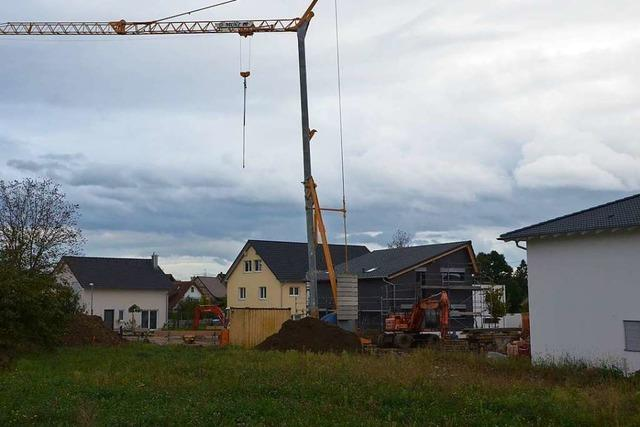 Der Verkauf von Bauland bleibt ein Lichtblick in Efringen-Kirchen