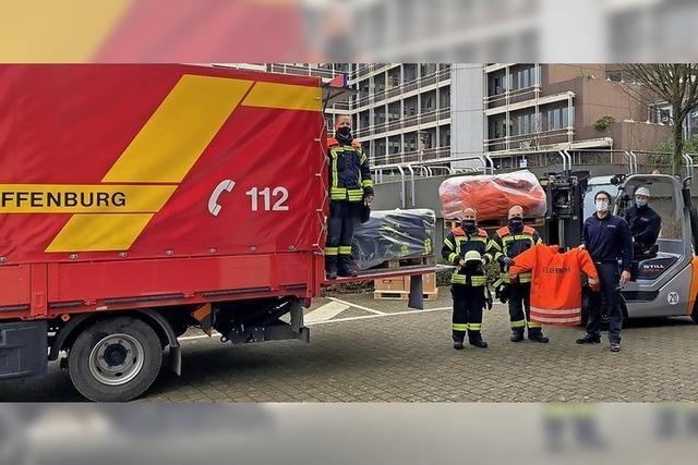 Unterstützung für Erdbebengebiet in Kroatien