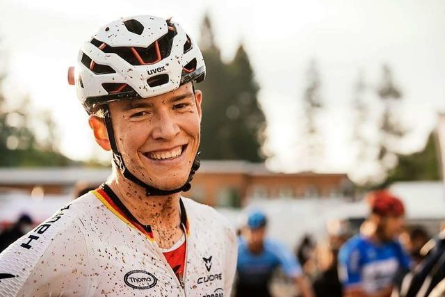 Der Freiburger Mountainbiker Max Brandl freut sich auf Olympia in Japan