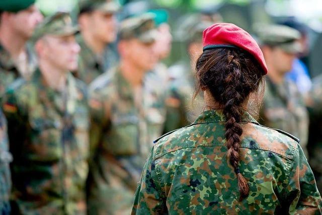 Emma Nentwig aus Nonnenweier über ihre Erfahrungen als Frau bei der Bundeswehr