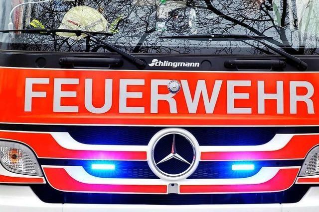 100 000 Euro Schaden nach Zimmerbrand im Krozinger Ortsteil Hausen