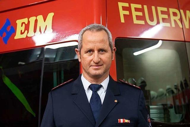 Michael Stöcklin bleibt Feuerwehrkommandant in Müllheim