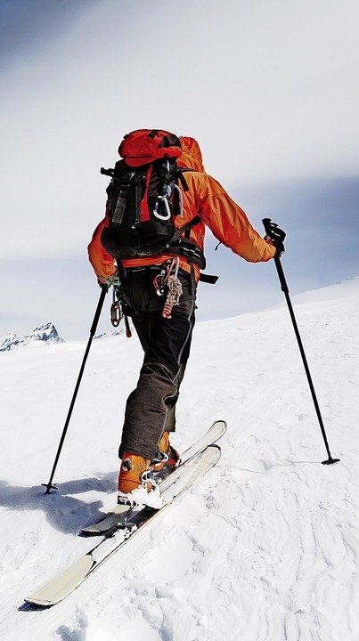 Für Fortgeschrittene: Skitourengehen  | Foto: ROBERTO CAUCINO