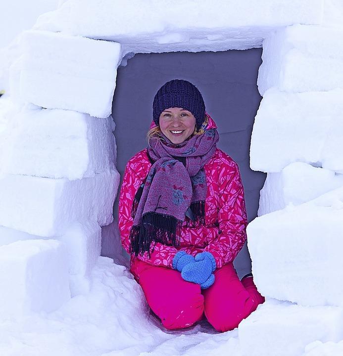 Hausbau im Schnee: Iglu-Workshop  | Foto: Anton Belovodchenko