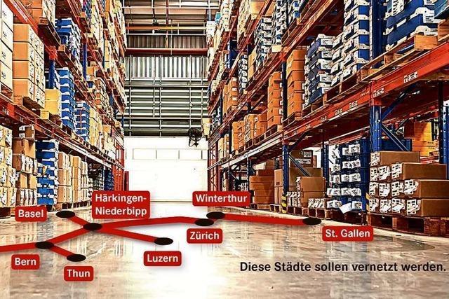 Wie ein Schweizer Unternehmen den Güterverkehr in den Untergrund verlegen will