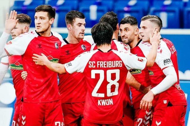 Mit Spielglück und Effizienz: SC Freiburg fährt vierten Sieg in Folge ein